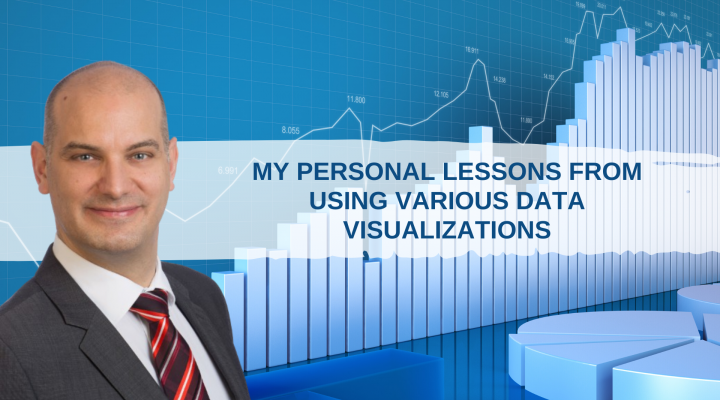 My personal lessons from using various data visualizations