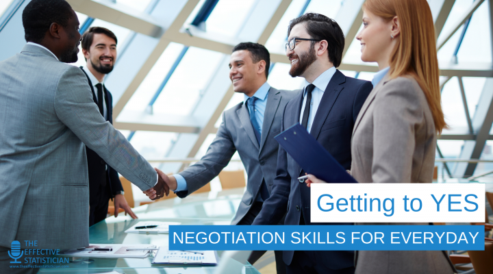Getting to YES: Negotiation skills for everyday