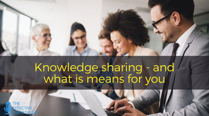 Knowledge sharing and what it means for you