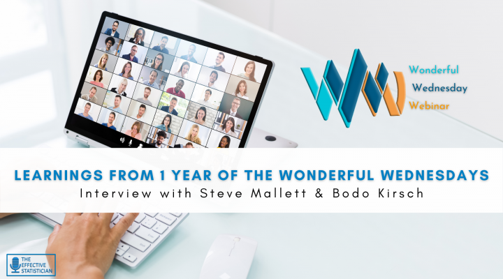 Learnings about data visualization from 1 year of Wonderful Wednesday Webinars