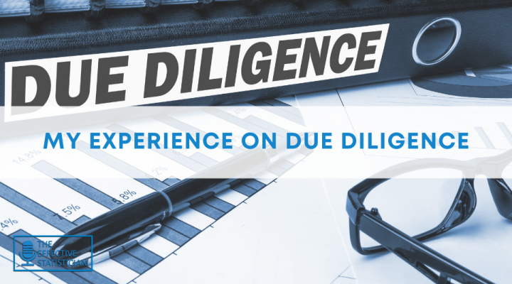 My experience as a statistician in a due diligence project