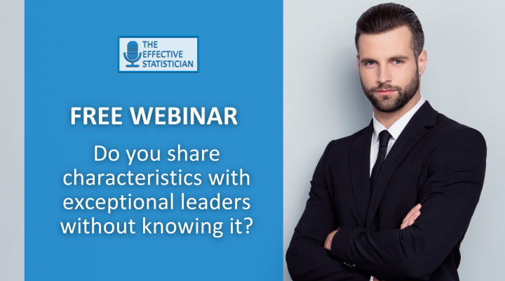 Free webinar: Do you share characteristics with exceptional leaders without knowing it?